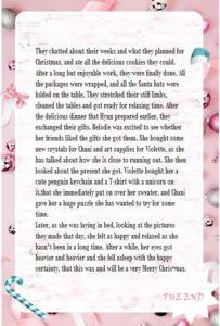 Secret Santa present 2020 part 4 made by Yuriko444