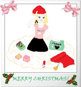 Secret Santa present 2020 part 5 made by Yuriko444