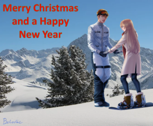 Winter Holiday Event 21-12-20/01-01-21: Christmas Card Nathaniel